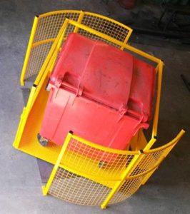 Draaibare palletopzetplaats voor tussenvloer en verdiepingsvloer