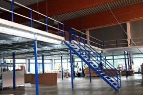 45° trap voor de entresolvloer